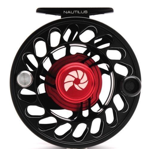 Nautilus CCF-X2 plata King Reel Negro -- galardonado-envío Gratis A Todo El Mundo