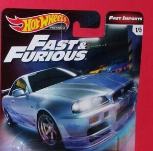 2019-Hot-Wheels-Pemium-Fast-amp-Furious-TAKE-YOUR-PICK-Nissan-Lamborghini-Ford