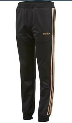 adidas pants gold stripes