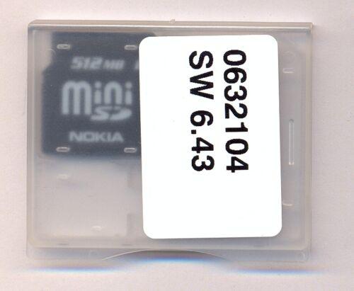 512 MB mini tarjeta SD-Nokia-en el original-nuevo-mini tarjeta SD 512 MB-Nokia