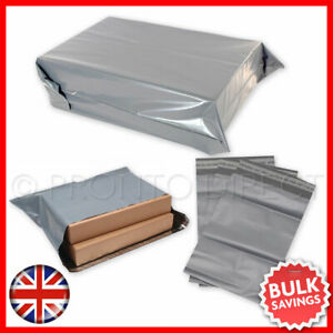 Strong-Grey-Mailing-Post-Bags-Postage-Poly-Mail-Self-Seal-Postal-Bag-All-Sizes