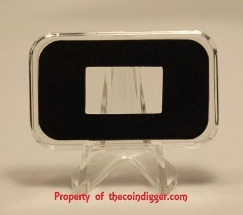1 AIR-TITE Direct Fit Capsule 5 GRAM Gold Bar Holder Acrylic Storage Case Suisse