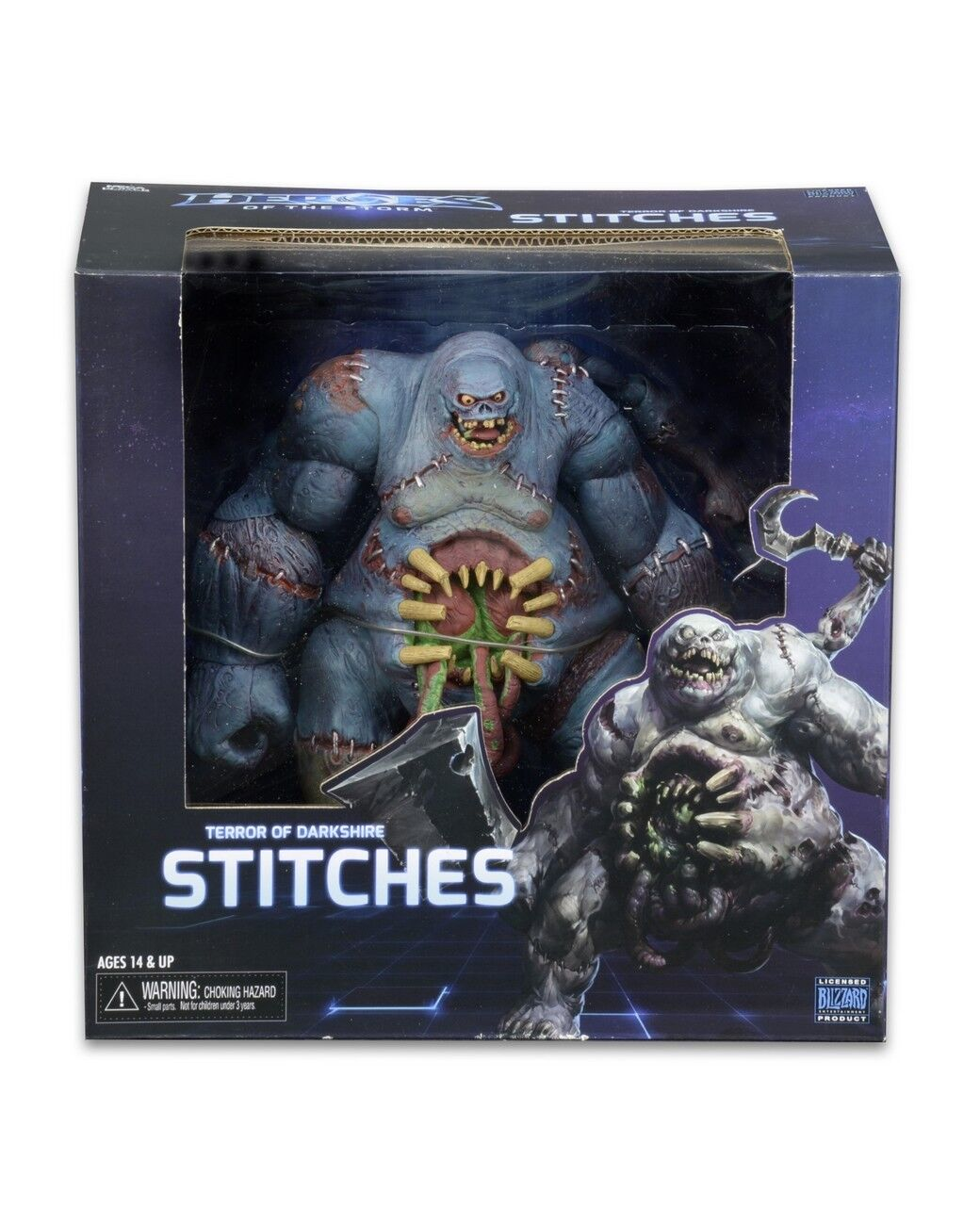 Heroes of the Storm – Deluxe Boxed Action Figure – Stitches - NEW    Blizzard