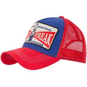King-Kerosin-Speed-Freak-More-Power-Trucker-Cap-Biker-Rockabilly-Vintage-Kult