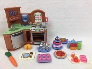 Image Is Loading Fisher Price Loving Family Dollhouse Accessories Kitchen W