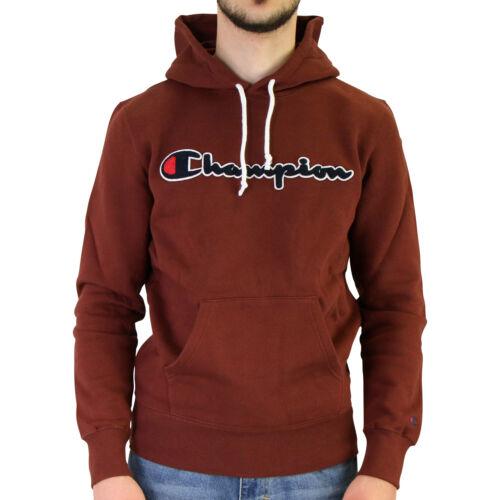 Champion Hooded Sweatshirt Hoodie Kapuzenpullover Herren Weinrot 213498 MS544