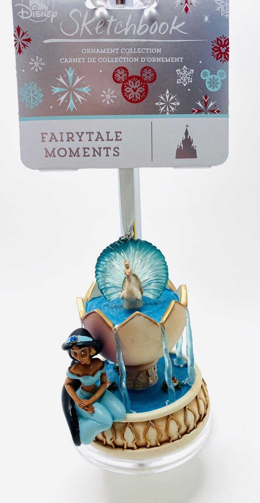 NEW Disney 2020 JASMINE Fairytale Moments Sketchbook Ornament Christmas