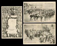 France WW1 PANTHEON DE LA GUERRE War 8x PPCs series produced by Deley Paris
