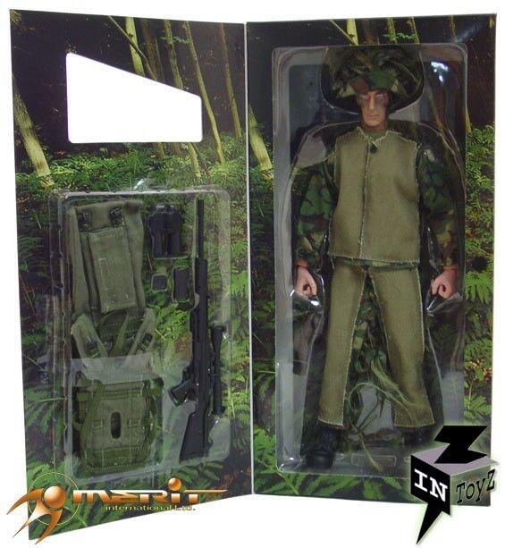 InToyz 1 6 Sniper Figure w    Ghillie Suit Action Figure db1760