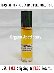 100-Uncut-NAG-CHAMPA-Perfume-Body-Oil-Attar-Roll-On-Pure-Natural-Fragrance-10ml