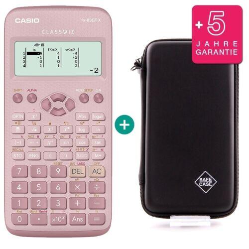 erweiterte Garantie Casio FX 83 GT X Pink Schutztasche