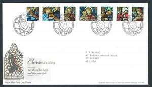 29165-UK-Great-Britain-2009-FDC-Christmas-7v