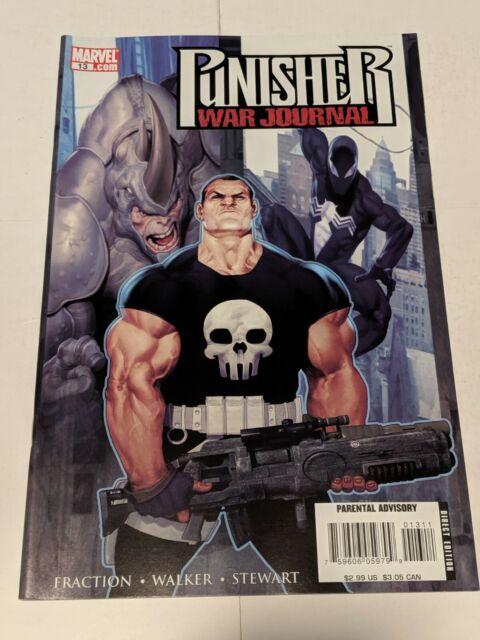 The Punisher War Journal #13 January 2008 Marvel Comics Fraction