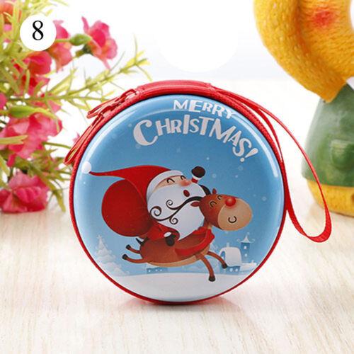 santa claus kinder taschen geldbörse schlüssel beutel weihnachten kopfhörer