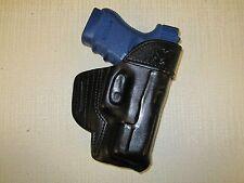 GLOCK 30,30s,29,29s  formed leather,owb belt holster