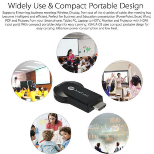 1080P AnyCast M2 Plus Wifi Display Dongle Empfänger Airplay DLNA Ezcast AH195 IE