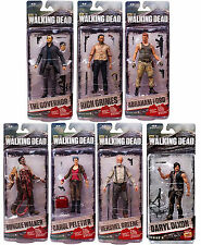 The Walking Dead Series 6 Full Set of 7 Figures Includes mega-rare Daryl Dixon!