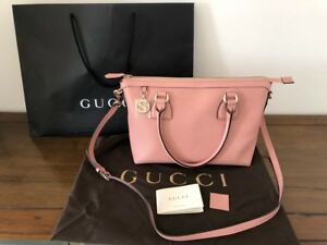 NEW-Authentic-Gucci-GG-Handbag-Leather-Shoulder-Bag-Medium