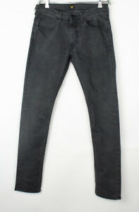 Lee Hommes Luke Slim Jambe Droite Jeans Extensible Taille W32 L32
