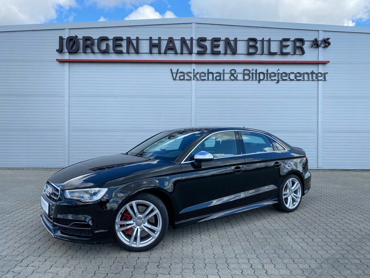 Audi S3 2,0 TFSi quattro 4d