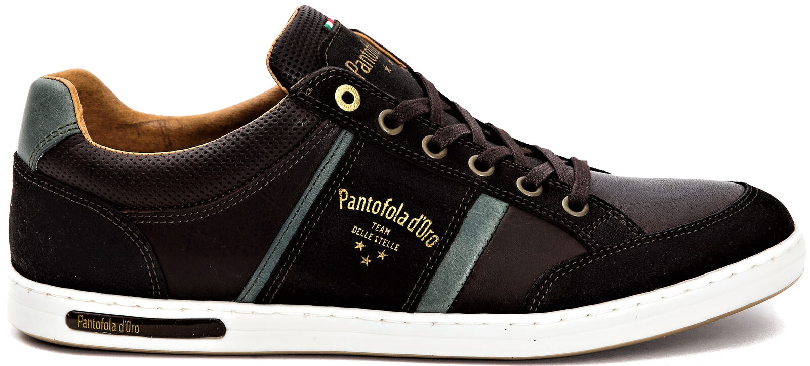 Herrenschuhe braun Pantofola d'Oro Schuhe Mann Mondovì niedrig braun