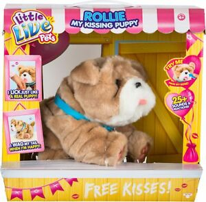 Little Live Pets - My Kissing Puppy Rollie - Brown
