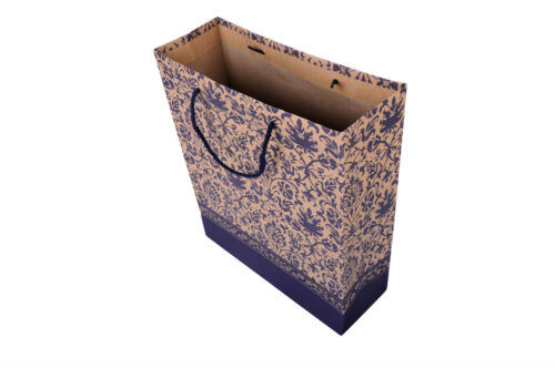 LUXURY PATTERNED BOUTIQUE PARTY BAGS WITH HANDLES-RECYCLABLE GIFT LOOT PAPER