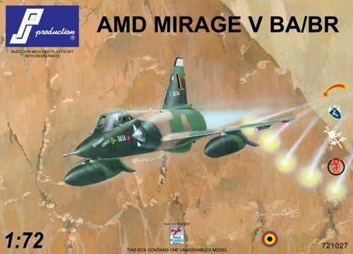Pj Productions 1/72 Mirage V Ba / Br #721027