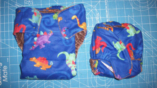 1 MamaBear Prefold//Fitted Hybrid One Size Fits All Quick Dry Diaper