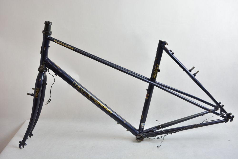 KOGA MIYATA RANDONNEUR LADY steel frame and fork