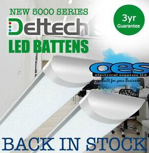 Details about DELTECH LED BATTEN STRIP LIGHTS 2FT-6FT 20W-60W LONG LIFE LED  TUBE LAMP