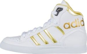 online store 8198d 44a7a Image is loading ADIDAS-ORIGINALS-EXTABALL-WOMENS-HIGH-TOP-TRAINERS-WHITE-