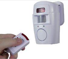 E27 Wireless 105db Security Burglar Theft Loud PIR Motion Sensor Siren Alarm