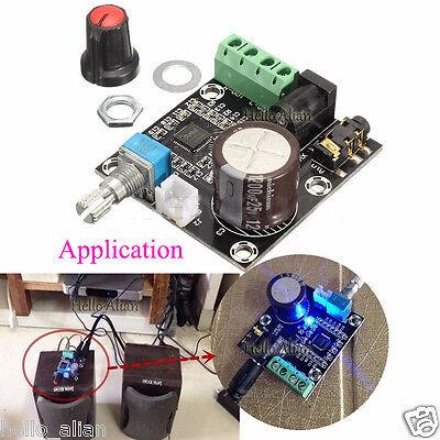 12v DC PAM8610 Class D digital audio amplifier board 15W+15W FOR CAR  Speaker AMP | eBay