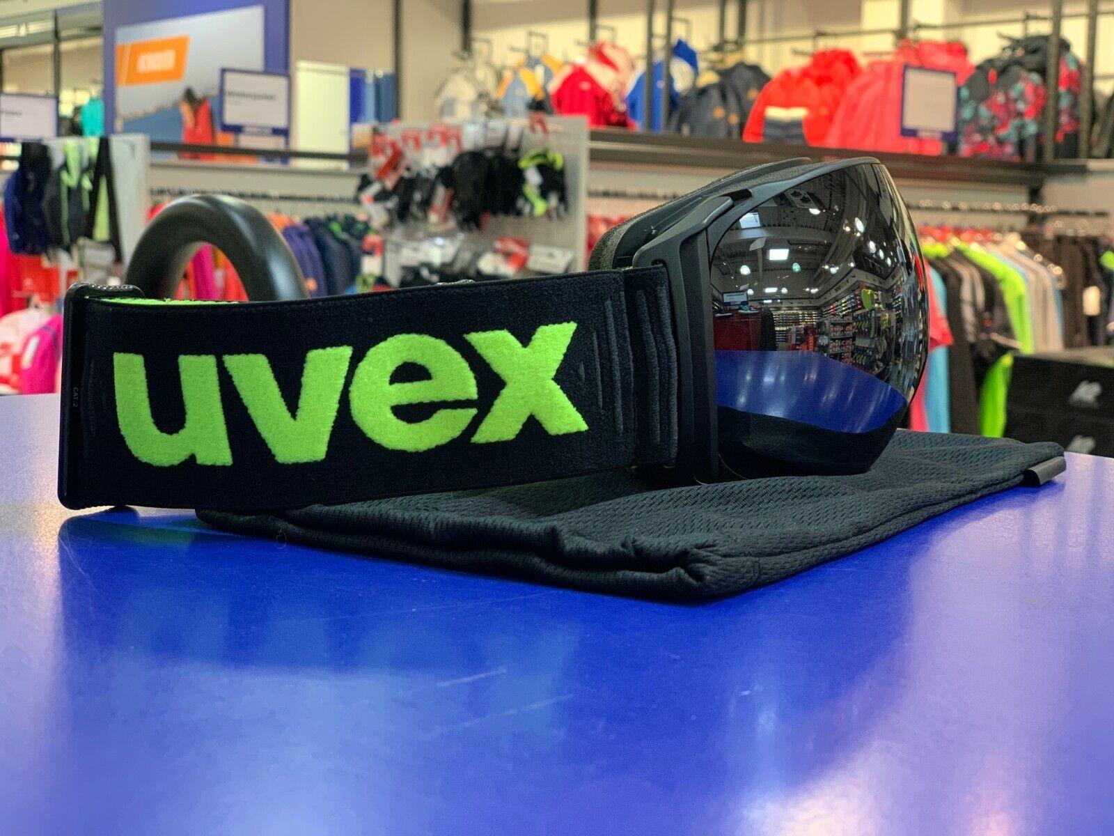 Uvex Ski-Brille  Sureness FM  schwarz mat Sonderangebot