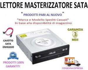 Lettore-Masterizzatore-CD-DVD-RW-SATA-Interno-5-25-034-Colore-Nero-Cavo-SATA