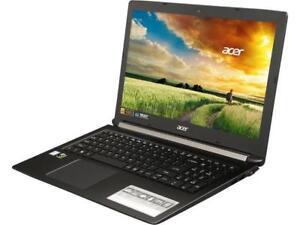 "Acer Aspire 7 15.6"" FHD IPS GTX 1050 Ti i7-8750H 8 GB Memory 256 GBGaming Laptop"