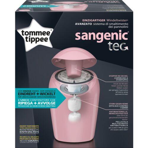 Tommee Tippee Sangenic Tec Windeleimer MK4 Windeltwister pink TOP