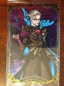 Details about Fate Grand Order FGO Wafer Card Vol 3 Archer of Shinjuku
