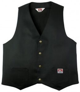 1935 Kutte Ben Biker Weste workwear Since Vest Mc Davis Original P671qRwnpn