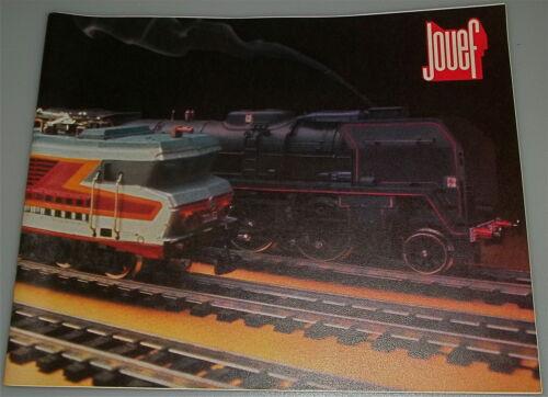 Jouef Katalog  1977 mehrsprachig