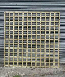 Image Is Loading 4 X Large Square Garden Trellis Fence Panel