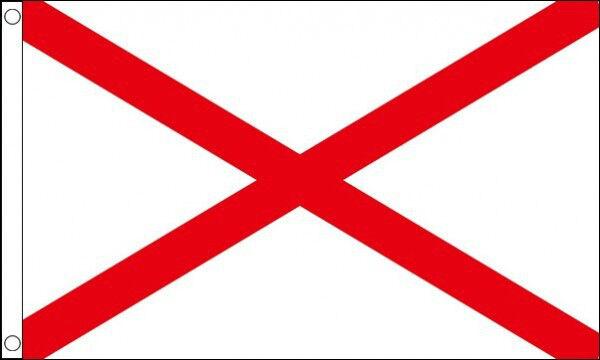 ST PATRICKS CROSS FLAG 5' x 3' Saint Patrick Day Ireland Irish Eire