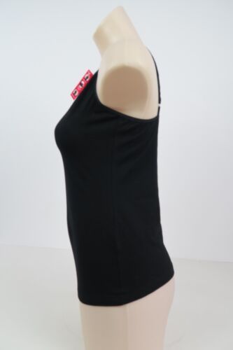Holeproof Ladies Nothing Stretch Cotton Camisole sizes 14 16 18 Colour Black