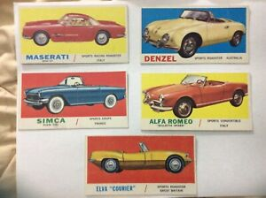 1961-Topps-Sports-Cars-VG-CHOOSE-YOUR-CARDS-49-ALFA-ROMERO