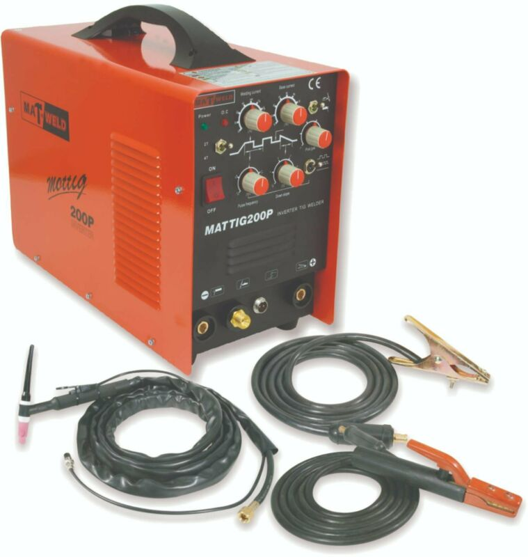 Matweld Welding Inverter  with pulse Arc/Tig 200AMP High Frequency