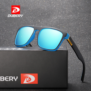 5688cf2ab0bc Image is loading DUBERY-10-Colors-Men-Polarized-Sunglasses-Driving-Sport-