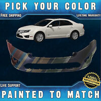 Painted To Match - Front Bumper Cover For 2010-2012 Ford Fusion And Hybrid