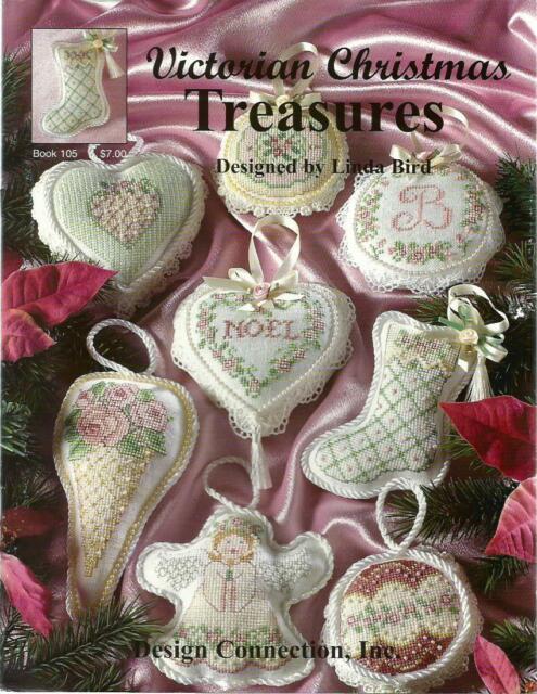Victorian Christmas Treasures Linda Bird Design Connection Cross Stitch Patterns