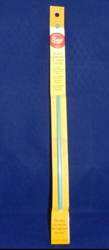 Boye 14-Pulgadas 35cm-US tamaño J 6mm-Aluminio Anodizado afgano de ganchillo